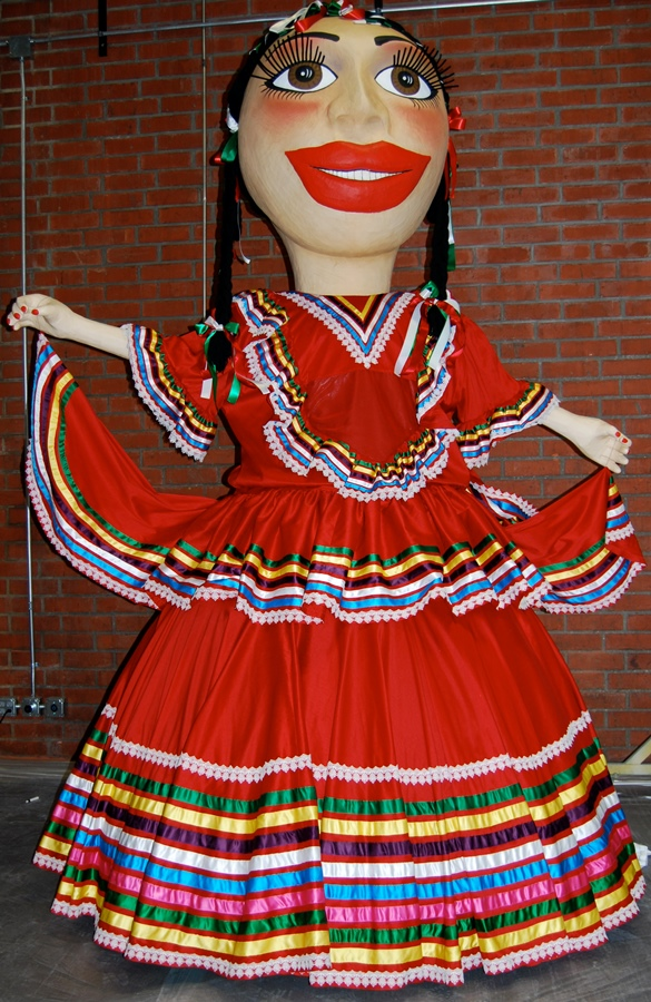 Disneyland Puppet Mexican