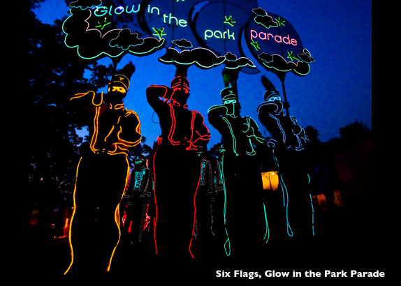 Electrical Costumes Sixflags 2