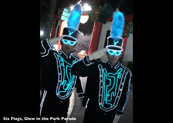 Electrical Costumes Sixflags 8