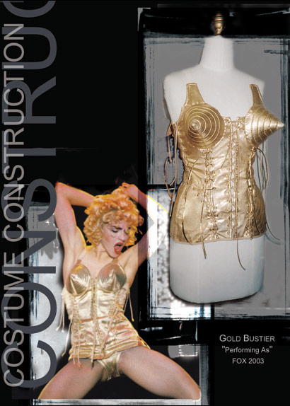 Performing as Fox Gold Bustier