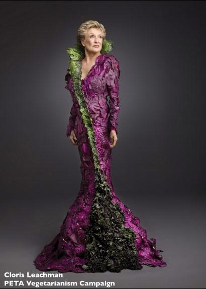 PETA Cloris Leachman