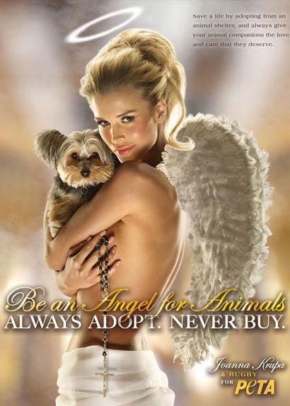 PETA Wings Joanna Krupa