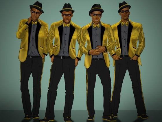 Universal Studios Japan Gold R&B Band