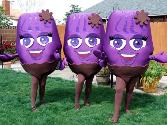Utopia Raisins Character Foam Costumes