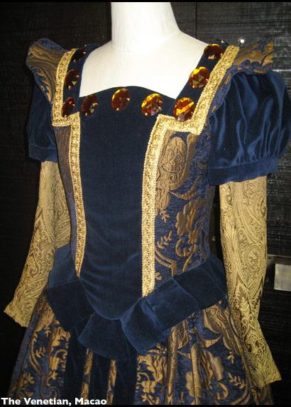 Venetian Bustier Blue