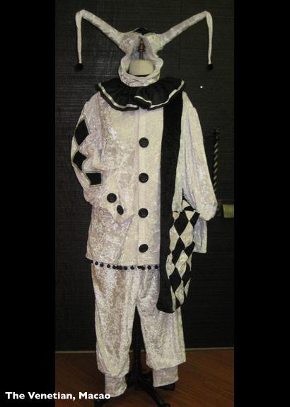 Venetian Jester Costume 2