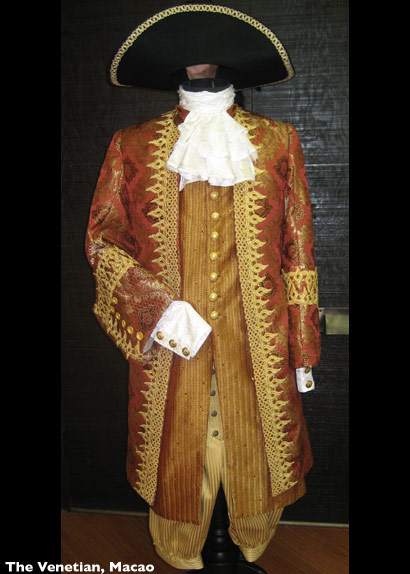 Venetian Mens Costume Rust