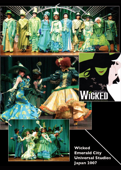 Wicked Emerald City Universal Japan