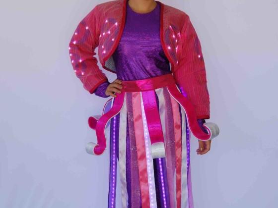 Lotte World Pink Swirl