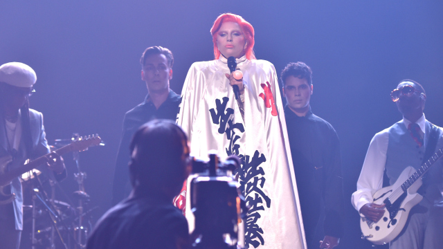 Lady Gaga Tribute To David Bowie